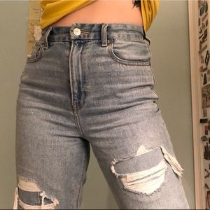 American Eagle Curvy Mom Jeans